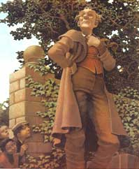 oscar wildes classic childrens tale about how a selfish giants life is transformed by the arrival of a special child who teaches him about love and