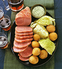 Traditional Bacon and Cabbage
