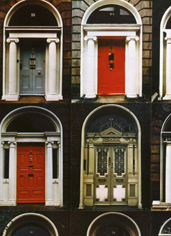 ... the doors are all found gracing Dublin\u0027s equally as famous Georgian Squares which were laid out during the Hanoverian period in the 1700s as the city ... & Irish Landmarks:The Doors of Dublin - World Cultures European